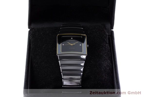 Used luxury watch Rado Diastar ceramic quartz Kal. ETA 256.111 Ref. 152.0332.3  | 153037 07