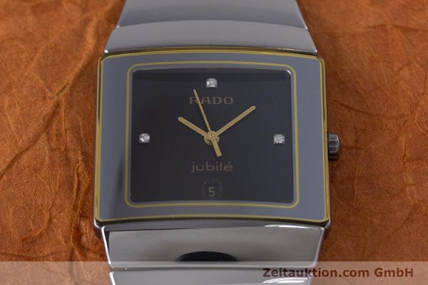 Used luxury watch Rado Diastar ceramic quartz Kal. ETA 256.111 Ref. 152.0332.3  | 153037 14