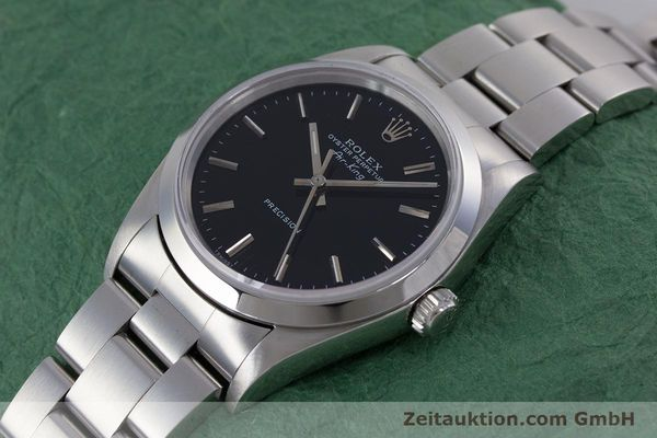 Used luxury watch Rolex Air King steel automatic Kal. 3000 Ref. 14010  | 153041 01