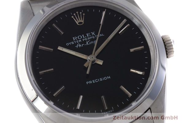 Used luxury watch Rolex Air King steel automatic Kal. 3000 Ref. 14010  | 153041 02