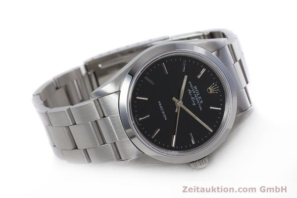 Used luxury watch Rolex Air King steel automatic Kal. 3000 Ref. 14010  | 153041 03