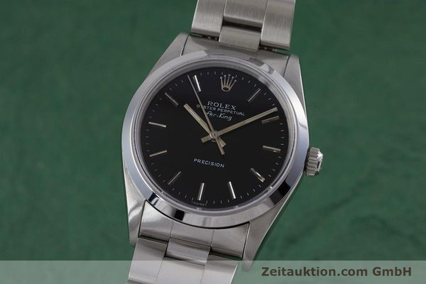 Used luxury watch Rolex Air King steel automatic Kal. 3000 Ref. 14010  | 153041 04