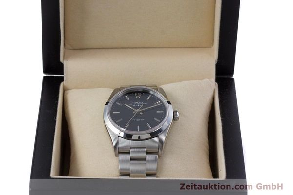 Used luxury watch Rolex Air King steel automatic Kal. 3000 Ref. 14010  | 153041 07