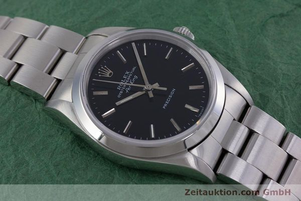 Used luxury watch Rolex Air King steel automatic Kal. 3000 Ref. 14010  | 153041 15