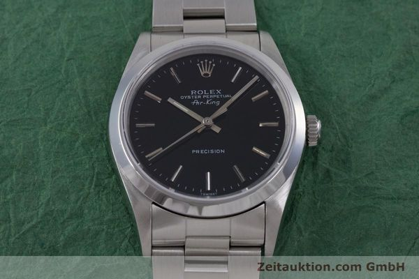 Used luxury watch Rolex Air King steel automatic Kal. 3000 Ref. 14010  | 153041 16