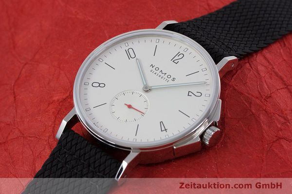 Used luxury watch Nomos Ahoi steel automatic Kal. Epsilon  | 153043 01