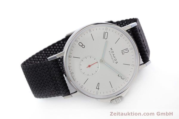 Used luxury watch Nomos Ahoi steel automatic Kal. Epsilon  | 153043 03