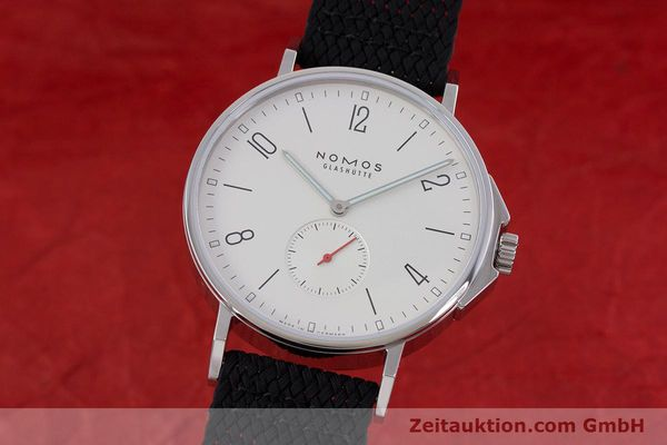 Used luxury watch Nomos Ahoi steel automatic Kal. Epsilon  | 153043 04