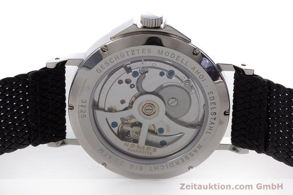 Used luxury watch Nomos Ahoi steel automatic Kal. Epsilon  | 153043 09