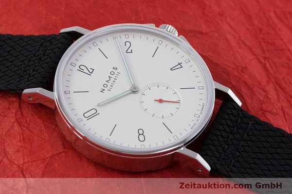 Used luxury watch Nomos Ahoi steel automatic Kal. Epsilon  | 153043 15