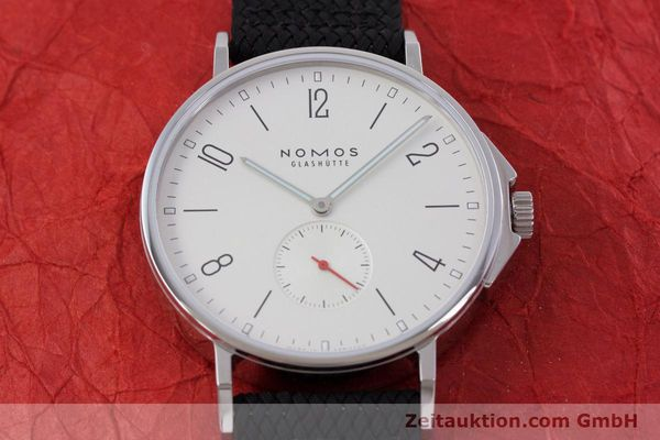 Used luxury watch Nomos Ahoi steel automatic Kal. Epsilon  | 153043 16