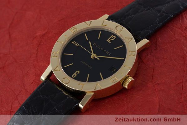 Used luxury watch Bvlgari Bvlgari 18 ct gold automatic Kal. 220TEEE Ref. BB33GL AUTO  | 153047 01