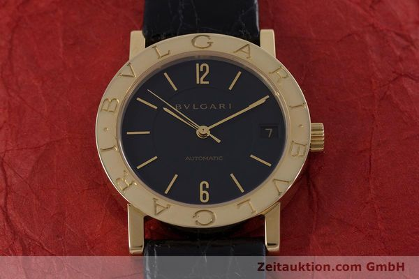 Used luxury watch Bvlgari Bvlgari 18 ct gold automatic Kal. 220TEEE Ref. BB33GL AUTO  | 153047 15