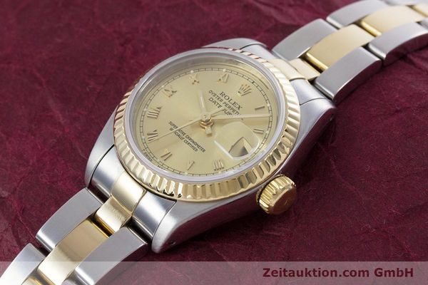 Used luxury watch Rolex Lady Datejust steel / gold automatic Kal. 2135 Ref. 69173  | 153052 01
