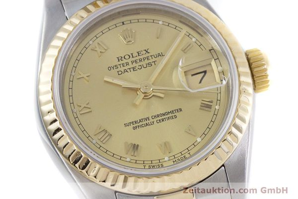 Used luxury watch Rolex Lady Datejust steel / gold automatic Kal. 2135 Ref. 69173  | 153052 02