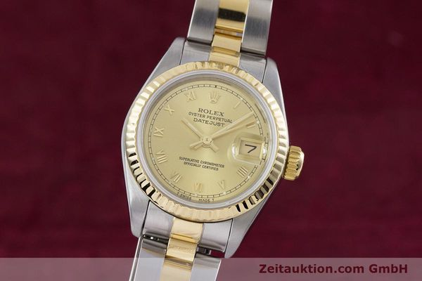 Used luxury watch Rolex Lady Datejust steel / gold automatic Kal. 2135 Ref. 69173  | 153052 04