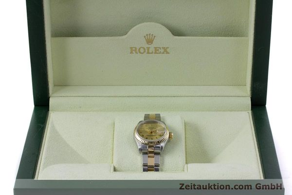 Used luxury watch Rolex Lady Datejust steel / gold automatic Kal. 2135 Ref. 69173  | 153052 07