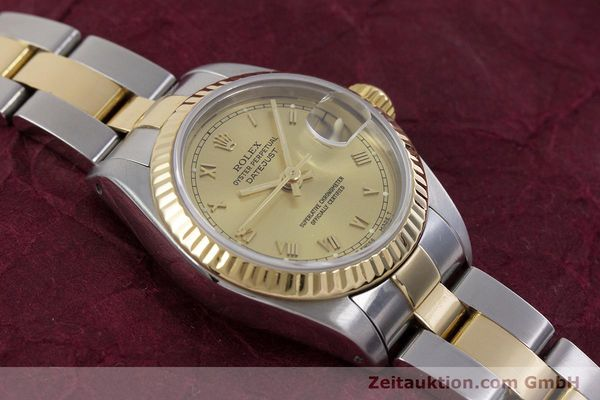 Used luxury watch Rolex Lady Datejust steel / gold automatic Kal. 2135 Ref. 69173  | 153052 14
