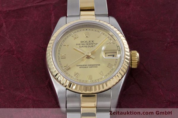 Used luxury watch Rolex Lady Datejust steel / gold automatic Kal. 2135 Ref. 69173  | 153052 15