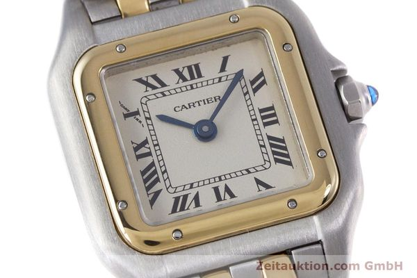 Used luxury watch Cartier Panthere steel / gold quartz Kal. 157  | 153053 02
