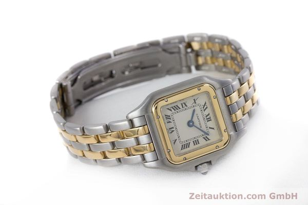 Used luxury watch Cartier Panthere steel / gold quartz Kal. 157  | 153053 03