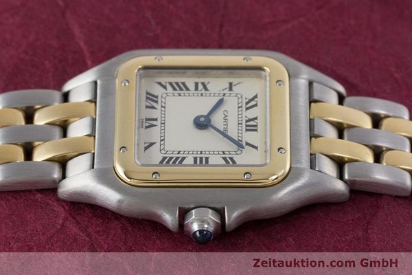 Used luxury watch Cartier Panthere steel / gold quartz Kal. 157  | 153053 05