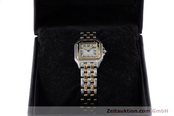 Used luxury watch Cartier Panthere steel / gold quartz Kal. 157  | 153053 07