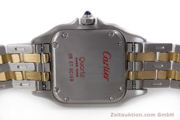 Used luxury watch Cartier Panthere steel / gold quartz Kal. 157  | 153053 09
