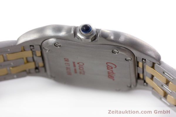 Used luxury watch Cartier Panthere steel / gold quartz Kal. 157  | 153053 10