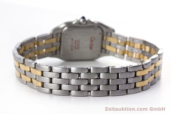 Used luxury watch Cartier Panthere steel / gold quartz Kal. 157  | 153053 11