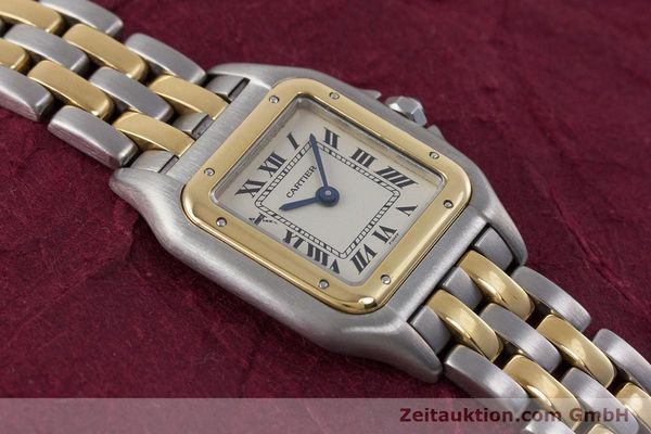 Used luxury watch Cartier Panthere steel / gold quartz Kal. 157  | 153053 14