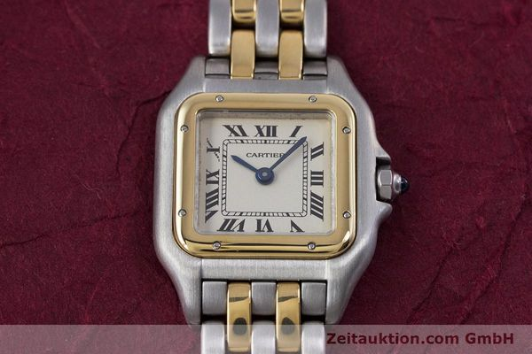 Used luxury watch Cartier Panthere steel / gold quartz Kal. 157  | 153053 15