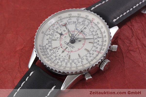 Used luxury watch Breitling Montbrillant chronograph steel automatic Kal. B21 ETA 7751 Ref. A21330  | 153057 01
