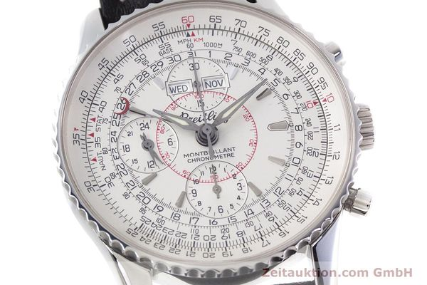 Used luxury watch Breitling Montbrillant chronograph steel automatic Kal. B21 ETA 7751 Ref. A21330  | 153057 02