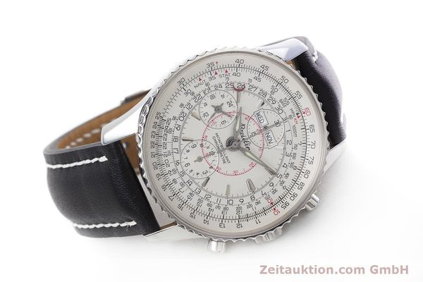 Used luxury watch Breitling Montbrillant chronograph steel automatic Kal. B21 ETA 7751 Ref. A21330  | 153057 03