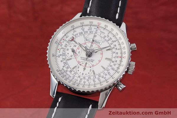 Used luxury watch Breitling Montbrillant chronograph steel automatic Kal. B21 ETA 7751 Ref. A21330  | 153057 04