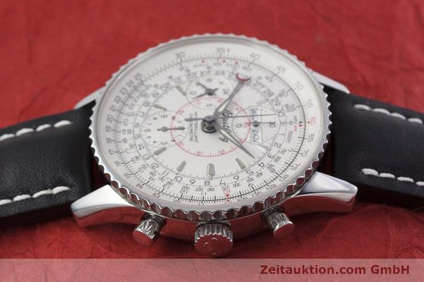 Used luxury watch Breitling Montbrillant chronograph steel automatic Kal. B21 ETA 7751 Ref. A21330  | 153057 05
