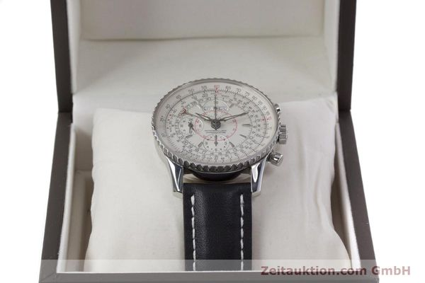 Used luxury watch Breitling Montbrillant chronograph steel automatic Kal. B21 ETA 7751 Ref. A21330  | 153057 07
