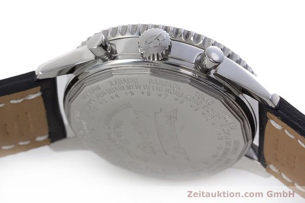 Used luxury watch Breitling Montbrillant chronograph steel automatic Kal. B21 ETA 7751 Ref. A21330  | 153057 08