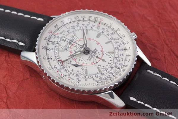 Used luxury watch Breitling Montbrillant chronograph steel automatic Kal. B21 ETA 7751 Ref. A21330  | 153057 13