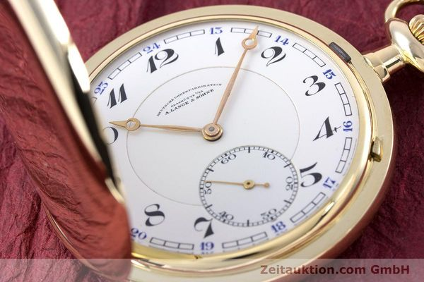 Used luxury watch A. Lange & Söhne DUF 14 ct yellow gold manual winding Kal. 43  | 153058 02