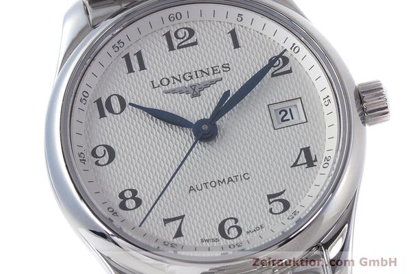 Used luxury watch Longines Master Collection steel automatic Kal. L.595.2 Ref. L2.257.4  | 153060 02