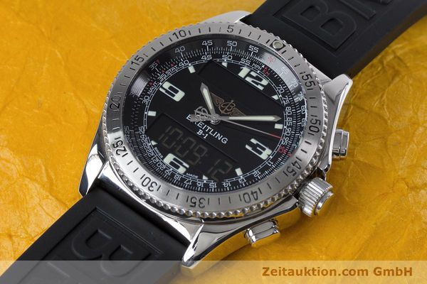 Used luxury watch Breitling B1 chronograph steel quartz Kal. B68 ETA E20.331 Ref. A68062  | 153068 01