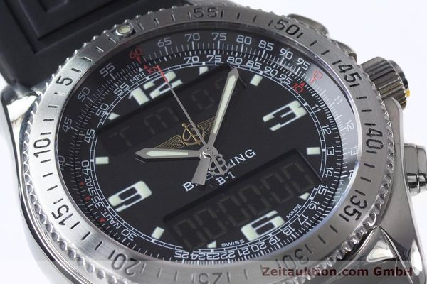 Used luxury watch Breitling B1 chronograph steel quartz Kal. B68 ETA E20.331 Ref. A68062  | 153068 02