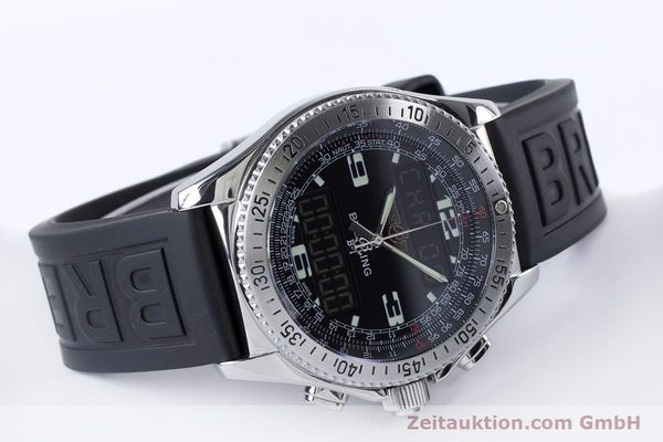 Used luxury watch Breitling B1 chronograph steel quartz Kal. B68 ETA E20.331 Ref. A68062  | 153068 03