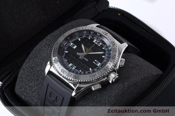 Used luxury watch Breitling B1 chronograph steel quartz Kal. B68 ETA E20.331 Ref. A68062  | 153068 07