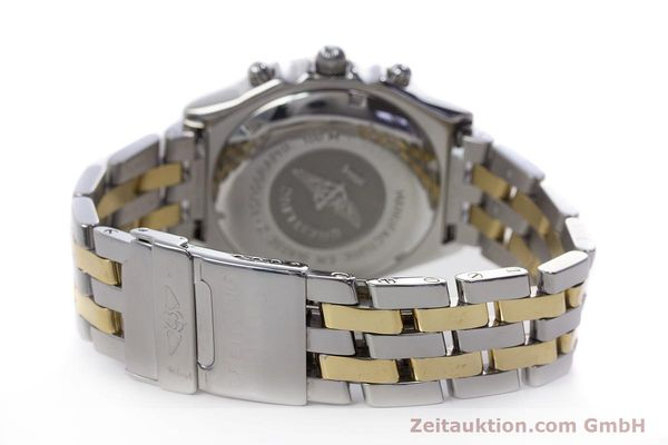 Used luxury watch Breitling Chronomat chronograph steel / gold automatic Kal. B13 ETA 7750 Ref. D13050.1  | 153074 11