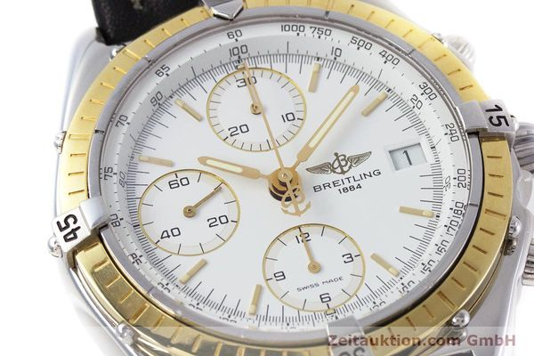 Used luxury watch Breitling Chronomat chronograph steel / gold automatic Kal. B13 ETA 7750 Ref. D13047  | 153075 02
