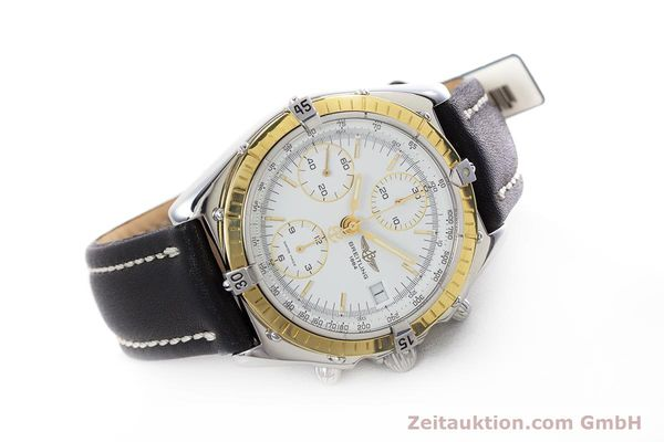 Used luxury watch Breitling Chronomat chronograph steel / gold automatic Kal. B13 ETA 7750 Ref. D13047  | 153075 03