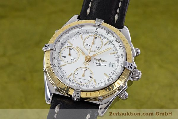 Used luxury watch Breitling Chronomat chronograph steel / gold automatic Kal. B13 ETA 7750 Ref. D13047  | 153075 04